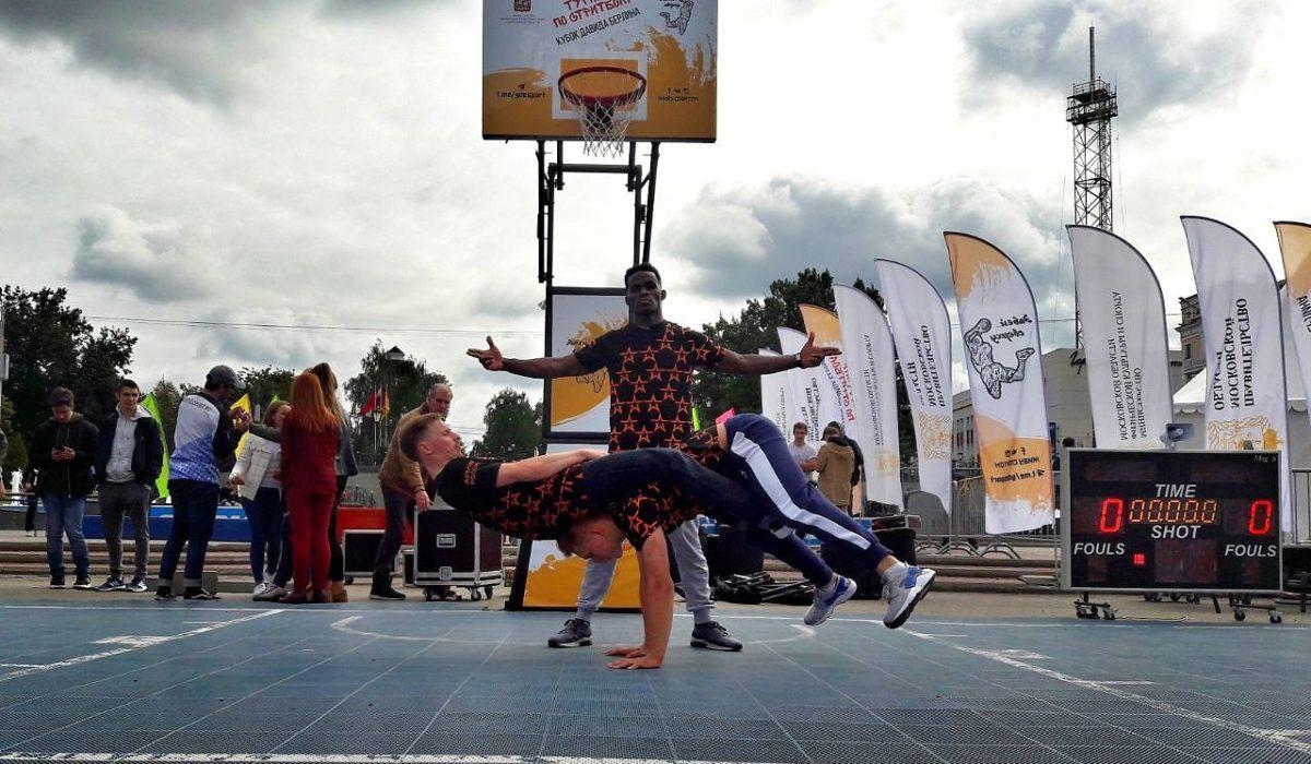 Break Move Show на открытом чемпионате по баскетболу в Ногинске